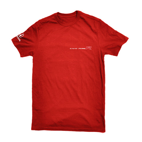 Official Licensed Red Honda Civic Type Tee