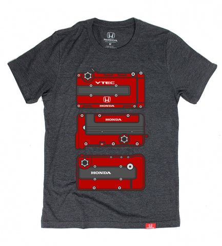 Official Licensed Honda Engine Tee