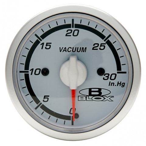 Blox Racing 52mm Vacuum Gauge