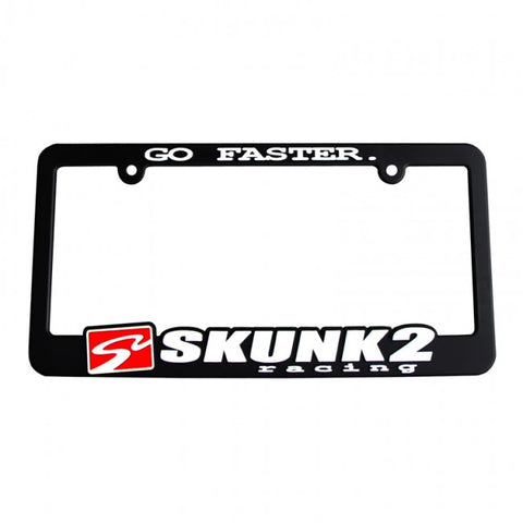 Skunk2 License Plate Frame Go Faster