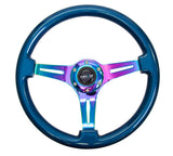 NRG Gen Classic 350mm Steering Wheel Neochrome Spoke