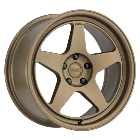 Kansei KNP Wheels 18x9.5 Bronze