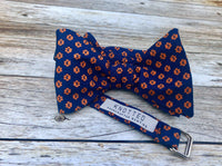 Auburn Paws - Knotted Handcrafted Bowties