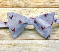 Crawfish - Knotted Handcrafted Bowties