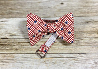 Stars and Stripes - Knotted Handcrafted Bowties