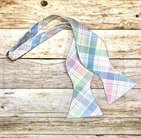 Spring Madras Plaid-Light - Knotted Handcrafted Bowties