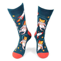 Space Cats Socks - Knotted Handcrafted Bowties