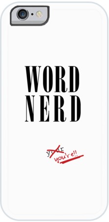Word Nerd Case for iPhone 6/7/8 Plus