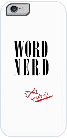 Word Nerd Case for iPhone 6/7/8