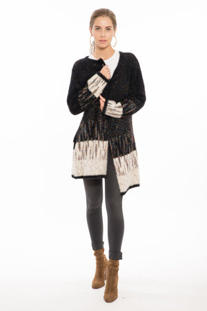 Emerson Glitz Cardigan Black