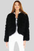 York Crop Feather Jacket