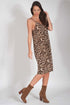 Judith Leopard Slip Dress