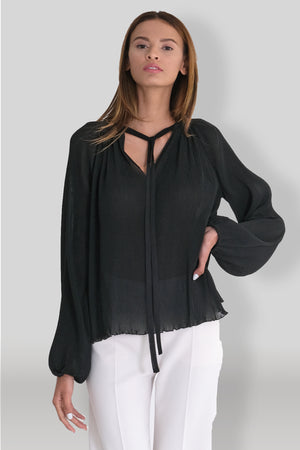 Michael All Pleats Top