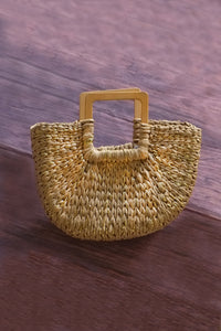 Resort Jade Half Moon Basket