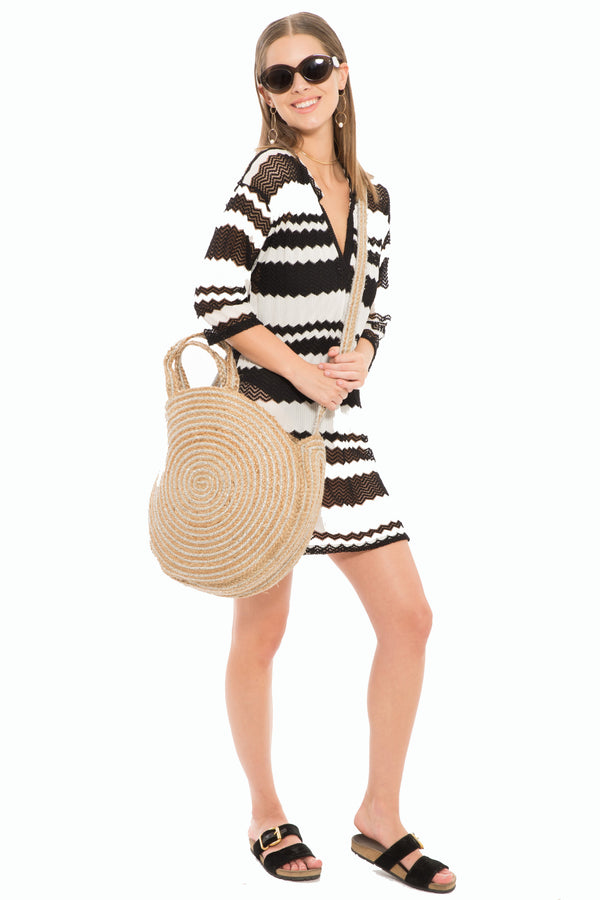 Delfin Straw Bag