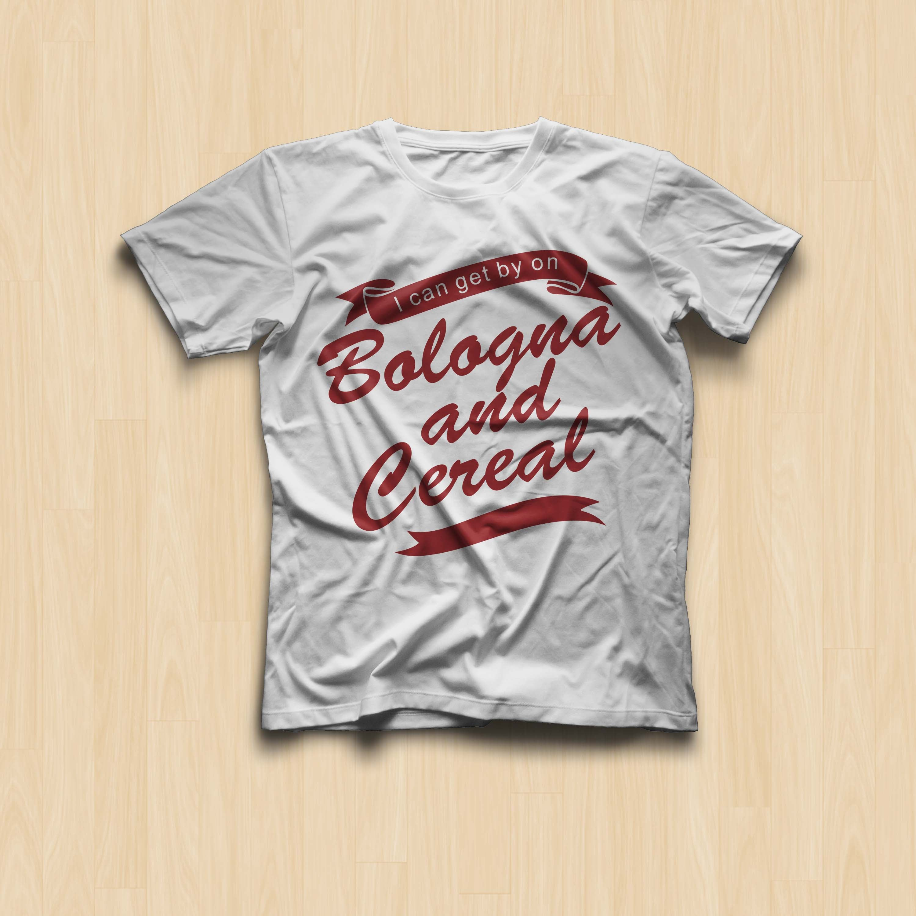 Bologna and Cereal Tee