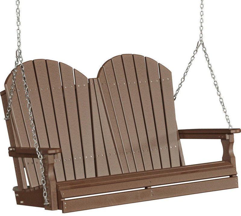 recycled plastic porch swing rocking furniture