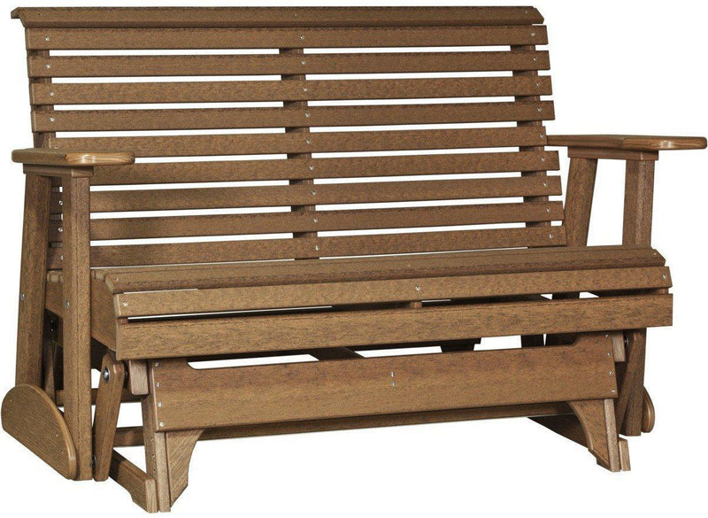 Luxcraft Rollback 4ft Recycled Plastic Glider Bench