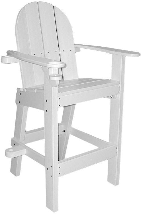 Tailwind Recycled Plastic Small Lifeguard Chair  LG 500   Rocking Furniture