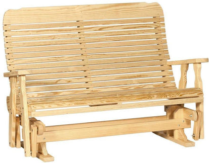 Leisure Lawns Amish Made Yellow Pine Easy Glider Model 504 Ships