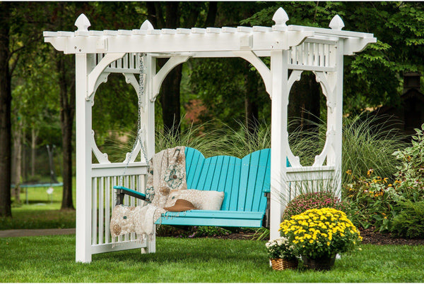 Luxcraft Adirondack Porch Swing Garden Patio Swing