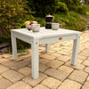 highwood usa recycled plastic Adirondack / Deep Seating Side Table - Whitewash