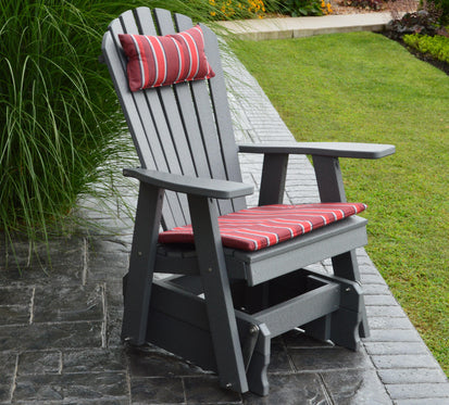 Swell Al Furniture Company Recycled Plastic Adirondack Gliding Chair Ships Free In 5 7 Business Days Andrewgaddart Wooden Chair Designs For Living Room Andrewgaddartcom