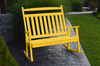 A&L Furniture Company Recycled Plastic Poly Classic Double Rocker - LEAD TIME TO SHIP 4 WEEKS