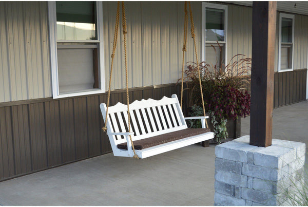 A Amp L Furniture Company Rope Kit Upgrade For Porch Swing