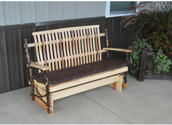 Amish Bentwood 5 Hickory Porch Glider
