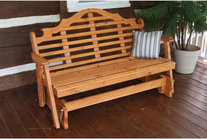 A L Furniture Co Western Red Cedar 4 Marlboro Glider Ships Free