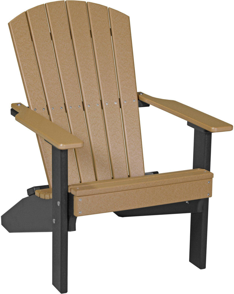 Lakeside Collection Patio Furniture: LuxCraft Adirondack Chair Recycled Plastic Lakeside Model