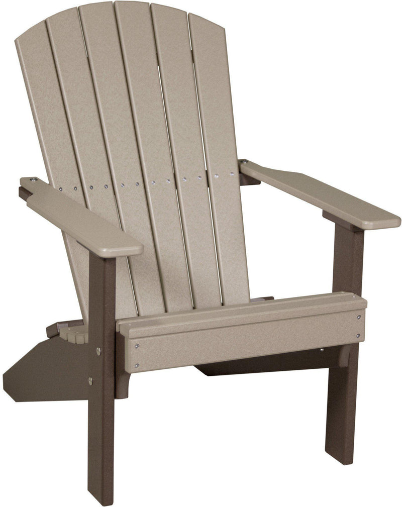 LuxCraft Recycled Plastic Lakeside Adirondack Chair   Rocking Furniture