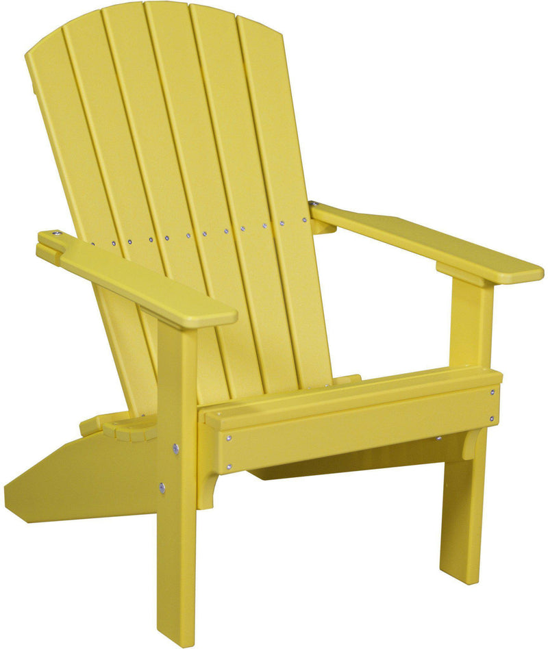 Luxcraft adirondack chair recycled plastic lakeside model - Chaise adirondack plastique recycle costco ...