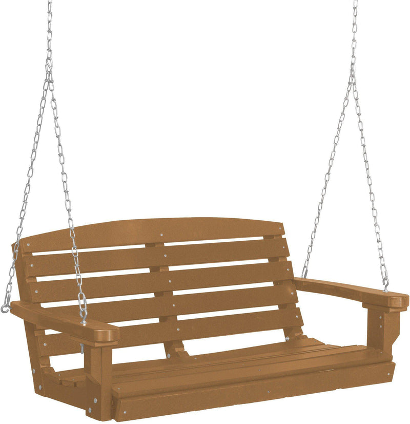 Wildridge Outdoor Recycled Plastic Classic 4ft Porch Swing