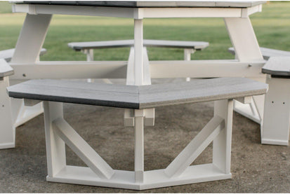 Wildridge Recycled Plastic Octagon Picnic Table Ships In - Recycled plastic hexagonal picnic table