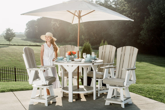 08f3d0892ab 5 Piece Outdoor All Weather Table Sets