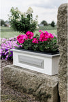 Wildridge Outdoor Recycled Plastic Heritage Small Windowbox  - Lead time to Ship 6 TO 8 WEEKS