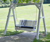 LuxCraft Rollback 4ft Recycled Plastic Porch Swing - Lead Time to Ship 4 Weeks