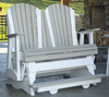 LuxCraft Recycled Plastic Counter Height 4' Adirondack Balcony Glider - Lead Time to Ship 4 Weeks