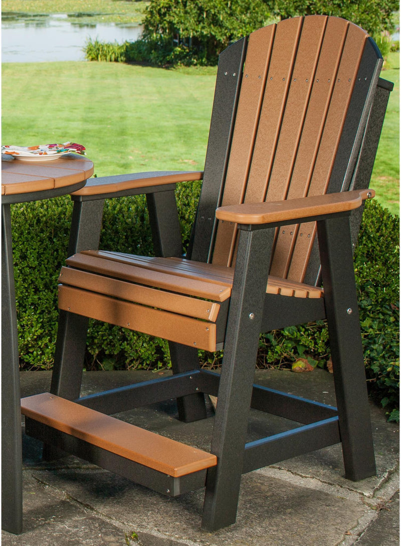 Luxcraft Balcony Adirondack Chair With Footrest Rocking