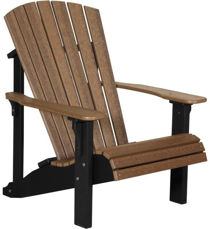 Luxcraft Adirondack Chair Recycled Plastic Deluxe Model