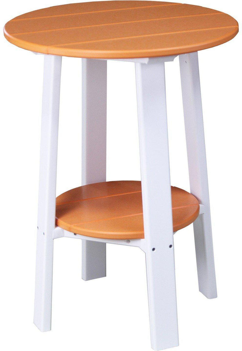 Luxcraft recycled plastic 28 counter height end table rocking furniture - Luxcraft fine outdoor furniture ...