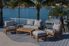 Royal Teak Collection Outdoor Miami Rectangular Table 43x24x17 - Ships FREE in 1 to 3 Business Days