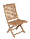 Royal Teak Collection Sailor Outdoor Folding Patio Side Chair - Ships FREE in 1 to 3 Business Days