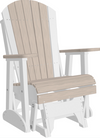 LuxCraft Recycled Plastic 2' Adirondack Glider Chair - LEAD TIME TO SHIP 14 WEEKS