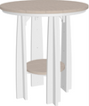 "LuxCraft Recycled Plastic 36"" Balcony Table"