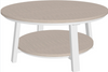 LuxCraft Recycled Plastic Deluxe Conversation Table - LEAD TIME TO SHIP 14 WEEKS