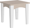 LuxCraft Recycled Plastic Island End Table
