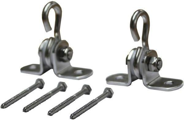 Luxcraft Porch Swing Hardware Hanging Kit Stainless Steel